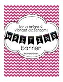 Writing Bulletin Board Banner
