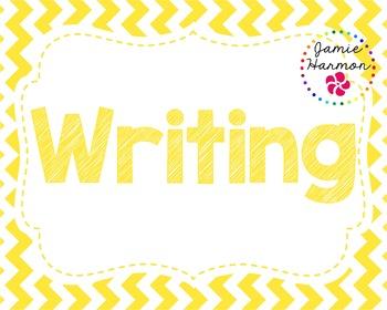 Writing Bulletin Board Headers