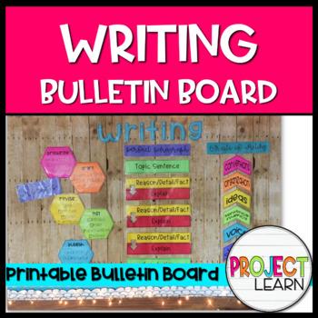 Writing Bulletin Board Kit - Blackline