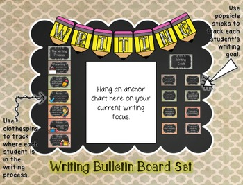 Writing Bulletin Board Set