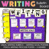 Writing Bulletin Board   Writing Process   Visual Writing
