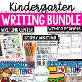 Kindergarten Writing Bundle {Sentence Writing and Story Writing}