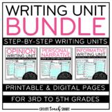 Writing Unit Bundle | Digital Pages for Google Slides | Di