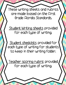 Writing Bundle (Narrative, Informational, Opinion & How - To)