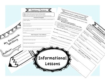 Writing Bundle: 4th, 5th, 6th Informational and Narrative writing Bundle