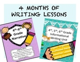 Writing Bundle: 4th, 5th, 6th Informational and Narrative