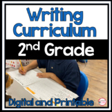 Year Long Writing Bundle For 2nd Grade