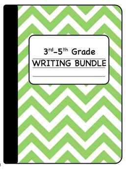 Interactive Writing Notebook Bundle Grades 3-5