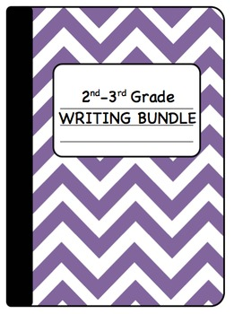 Interactive Writing Notebook Bundle Grades 2-3