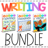 Writing Bundle: How to Write a Sentence, Paragraph, & Poetry (36-Week Program)