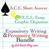 Writing Bundle Kit STAAR Expository Persuasive PEEL ACE