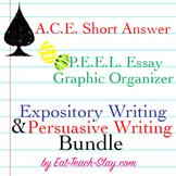 Writing Bundle Kit Expository Persuasive PEEL ACE Graphic