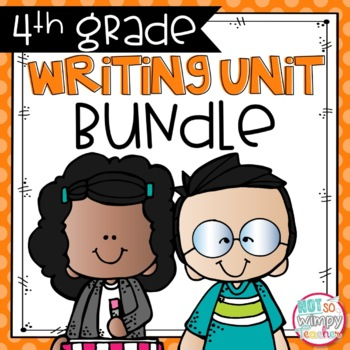 Writing Bundle: Personal Narrative, Informational, Opinion & Fiction 4TH GRADE
