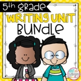Writing Bundle: Personal Narrative, Informational, Opinion & Fiction 5TH GRADE