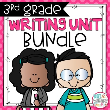 Writing Bundle: Personal Narrative, Informational, Opinion & Fiction 3RD GRADE