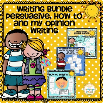 Writing Prompts:Persuasive,Opinion & How to For 1 & 2