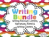 Writing Bundle: Recount, Retell, Narrative, Letters & Writ