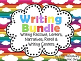 Writing Bundle: Recount, Retell, Narrative, Letters & Writ