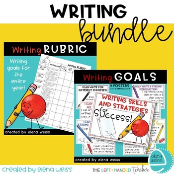 Writing Bundle: Rubric and Posters