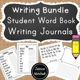 Writing Bundle Student Word Book and Writing Journal