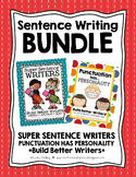 Writing Bundle - Super Sentence Writers + 3 Kinds of Sentences