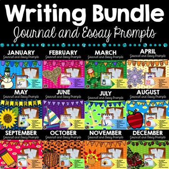 Writing Bundle {Writing through the Year}
