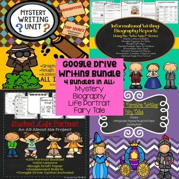 Writing Workshop Genre Bundle (Optional Google Drive Capability)