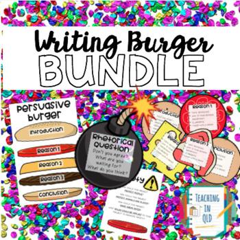 Writing Burger Bundle PERSUASIVE and NARRATIVE