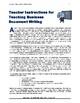 "WRITING - ""Business Letters & Memorandums"""