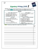 """Writing CAFE (Expository 1)- Using """"Spices"""" in Writing"""