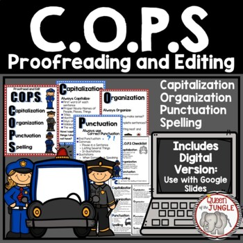 #ridethewave50  Writing COPS-Proofreading and Editing