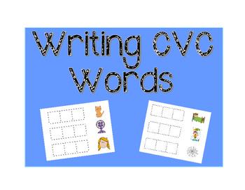Writing CVC Words