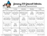 Writing Calendar -  January 2019 & IB