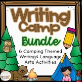 Writing Camp BUNDLE: Writing and Language Arts Activities
