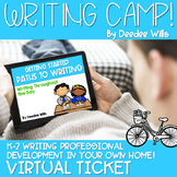 Writing Camp Professional Development Virtual Ticket
