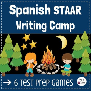 Writing Camp -Spanish - STAAR - 4th grade / Campamento de Escritura