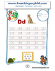 Kindergarten worksheets English Capital-Lower Alphabets.