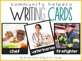Writing Cards- Community Helper Cards