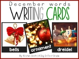 Writing Cards- December Word Cards