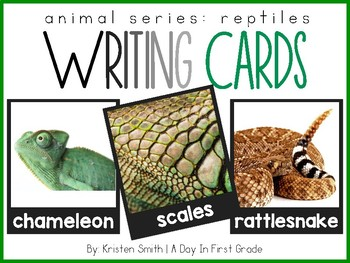 Writing Cards- Reptile Cards