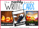 Writing Cards- The Monthly Bundle (a GROWING bundle)