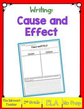 Writing: Cause & Effect Relationships