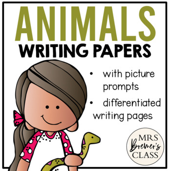 Writing Center {Animals}
