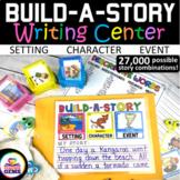 Writing Center: Build-A-Story with Creative Writing Prompts