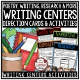 Writing Center Activities 3rd Grade, 4th Grade Narrative, Expository Writing