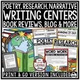 Writing Center Activities 3rd Grade, 4th Grade Narrative, Expository Writing