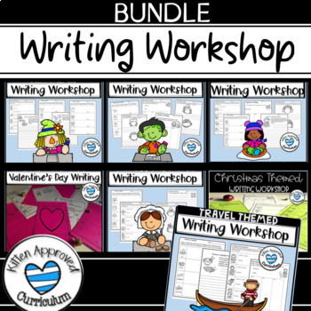 Independent Writing Activities for 3rd, 4th, and 5th Grade Writing Centers