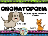 Onomatopoeia 2nd and 3rd Grade