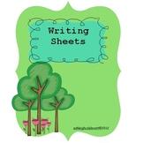 Writing Center Activities - Year Round