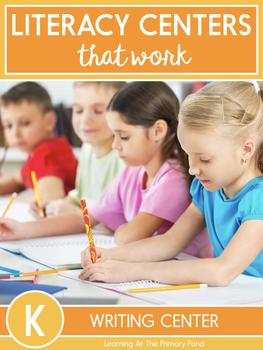 Writing Center Activities for Kindergarten